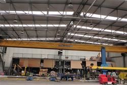 Overhead crane Omis Spa - Lot 25 (Auction 3871)