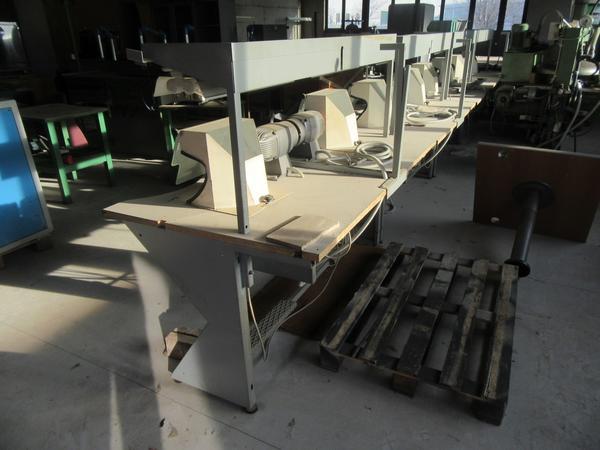 1#3913 Banchi da lavoro ed elementi per pavimentazione