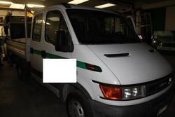 Iveco 35C13A e cassone con serbatoio carburante - Lotto 21 (Asta 3918)