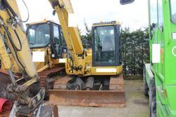 Komatsu PC88 excavator - Lot 42 (Auction 3918)