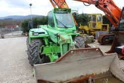 Merlo telescopic handler complete with shovel and foks - Lot 48 (Auction 3918)