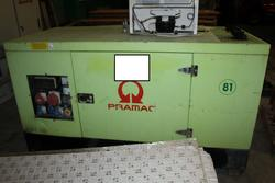 Pramac diesel generator - Lot 68 (Auction 3918)