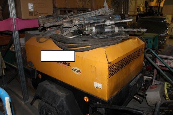 76#3918 Compressore a gasolio Ingersoll Rand
