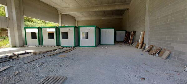 1#39180 Box container uso ufficio