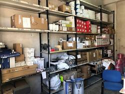 Products for video surveillance and shelving - Lot 1 (Auction 3923)