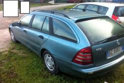 Car Mercedes 220 CDI Sw - Lot 5 (Auction 3924)