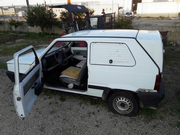 17#3938 Autoveicolo Fiat Panda Van