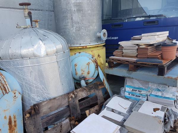 13#3947 Colonna distillazione inox