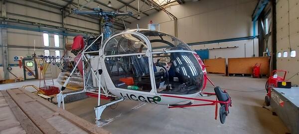 Immagine n. 1 - 1#3972 Elicottero Aerospatiale SA 315B Lama