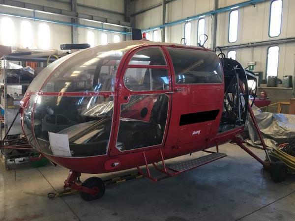 Immagine n. 15 - 4#3972 Elicotteri smontati Lama e Alouette