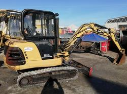 Miniescavatore New Holland E 50.2 e Caterpillar 303.5 - Lotto  (Asta 3975)