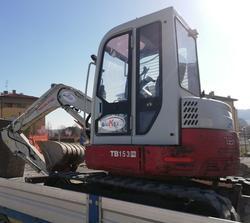 Takeuchi TB 153 FR Mini Excavator - Lote 3 (Subasta 3975)