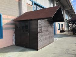 Casetta in legno nuova - Lotto 12 (Asta 3977)