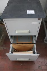 Card index cabinet with plates for perforating cylinders - Lot 20 (Auction 3985)