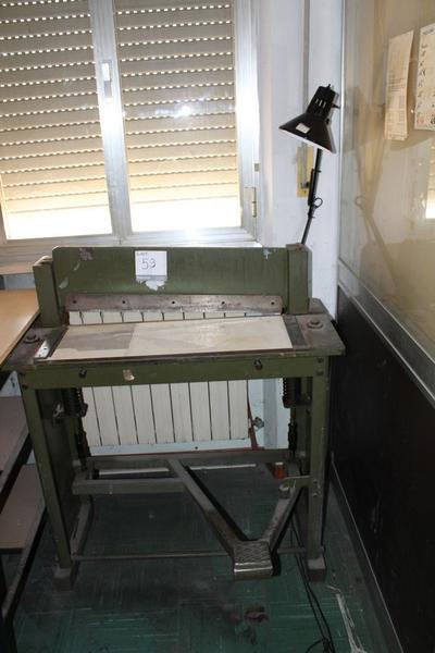 53#3985 Taglierina meccanica