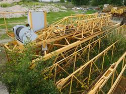 Simmapotain SP 80 tower crane - Lot 13 (Auction 3997)