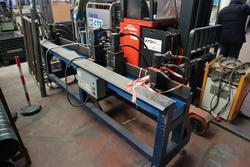 Hydraulic notching machine and flanging machine - Lot 0 (Auction 3998)