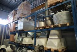 Raw materials and semi finished goods warehouse - Lot 53 (Auction 3998)