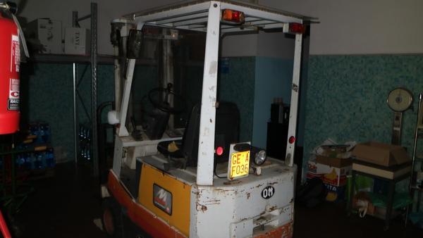 3#4004 Carrello elevatore Fiat OM