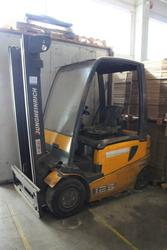 Jungheinrich forklift mod EFG VAC 25 - Lot 102 (Auction 4006)