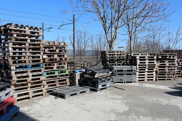 Immagine n. 3 - 134#4006 Bancali in legno