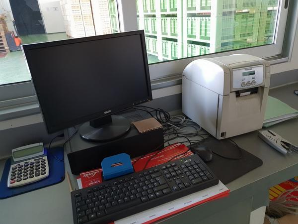 3#4009 Stampante OKI e monitor Asus