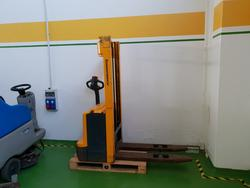 Jungheinrich and Carrellificio Cesenate electric pallet trucks - Lot 8 (Auction 4009)