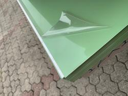 N 10 aluminum metal sheet - Lot 9 (Auction 4023)