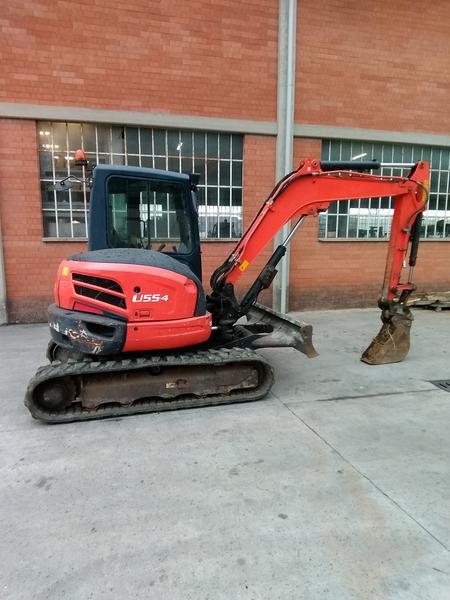 2#4028 Escavatore Kubota U 55-4