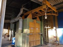 Shot blasting machine PG 15X20 3TR ST2 - Lot  (Auction 4030)