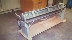 Fold sheet metal machine - Lot 16 (Auction 4031)