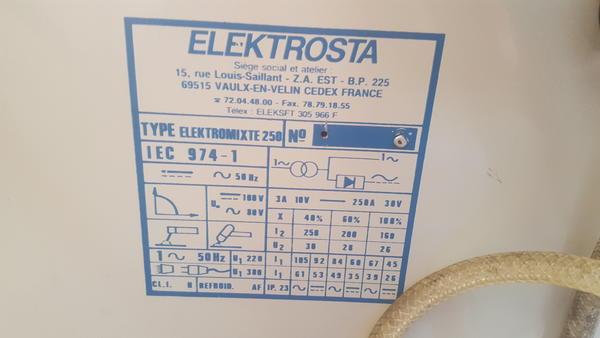 Immagine n. 2 - 21#4031 Saldatrice Elektrosta