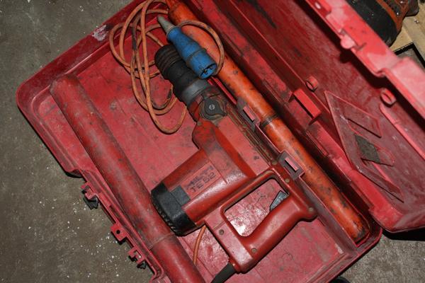 1#4034 Trapano Hilti e attrezzature da cantiere