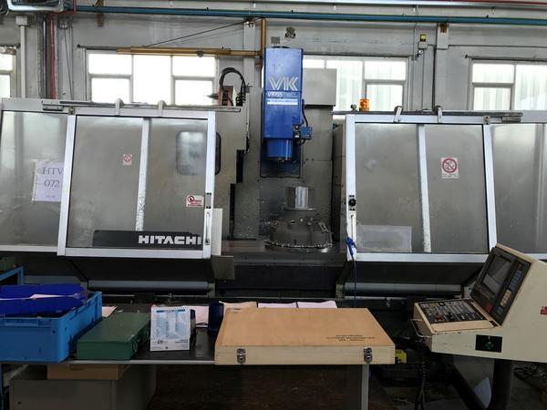 7#4048 Centro di lavoro verticale Hitachi Seiki VK65