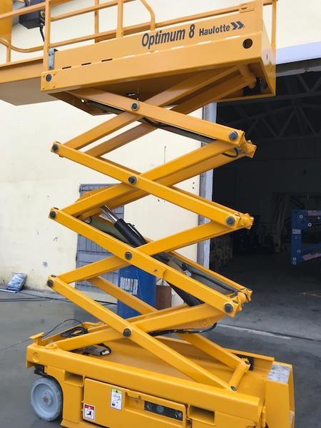 Immagine n. 9 - 3#4058 Piattaforma verticale a pantografo Haulotte Optimum 8