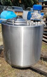 Insulated stainless steel vat - Lote 107 (Subasta 4068)