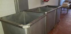 Vasche inox - Lotto 41 (Asta 4068)