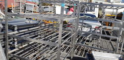 Trolleys for hams - Lot 63 (Auction 4068)
