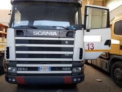 Scania 124G 420 truck - Lot 13 (Auction 4069)