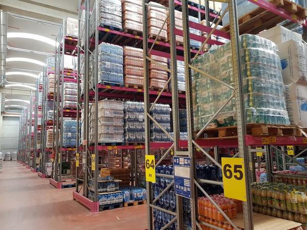 1#4075 Scaffalature industriali Rosss