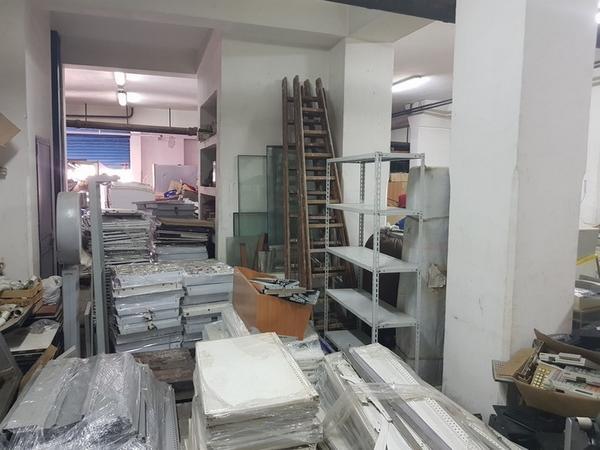 19#4076 Scaffalature in acciaio inox per celle frigorifere