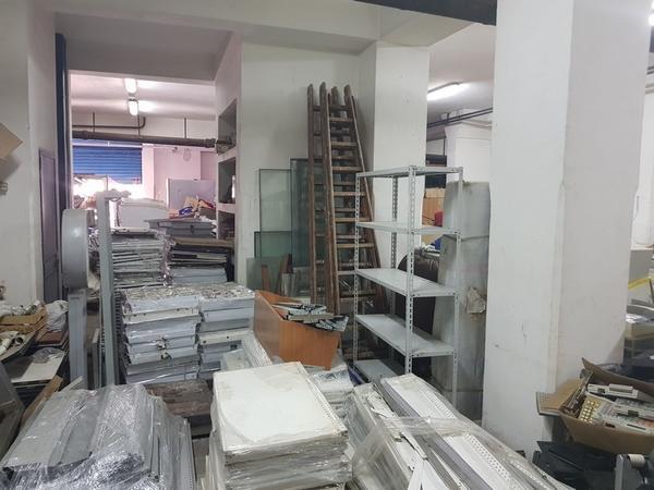 5#4076 Scaffalatura metallica industriale
