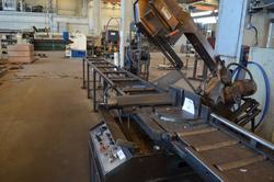 Anbas automatic band saw - Lot 16 (Auction 4077)