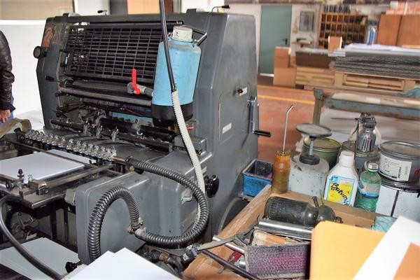 Heidelberg single color printing machine