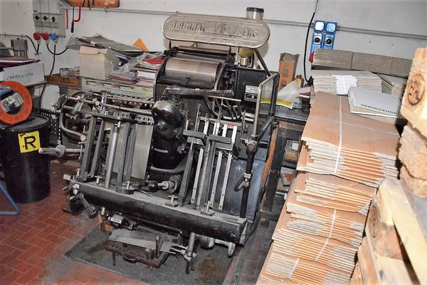 Heidelberg single color printing machine