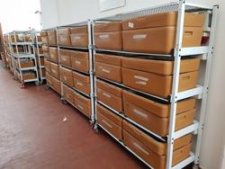 Refrigerated counter for food and scales - Lot 7 (Auction 4092)