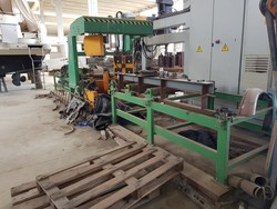 Ficep profile notcher and Clark forklift - Lot 7 (Auction 4093)