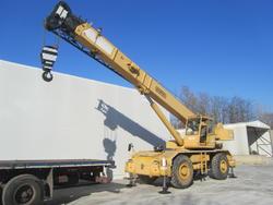 Rough terrain crane Locatelli Gril840 - Lot 1 (Auction 4102)