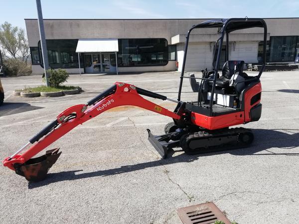 1#4106 Mini escavatore Kubota kx015-4