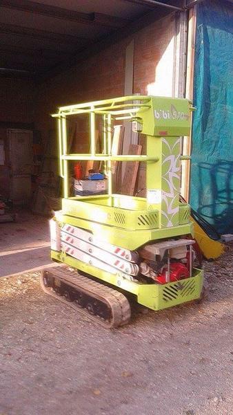 Immagine n. 1 - 5#4112 Piattaforma di lavoro mobile elevabile